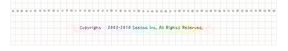 copyright 2003-2009 Seesaa Inc., All Rights Reserved.